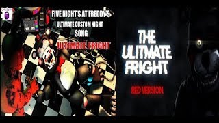 [SFM\FNAF] FNAF 6 Ultimate Custom Night Song Ultimate Fright Red And Blue Music Video | Dheusta