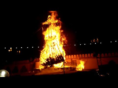 Xxx Mp4 Kota Dusshera Mela Kota Ravan Effigy Ravan Dahan Dusshera Mela Dushera Fair Video Oct 2015 Part 2 3gp Sex