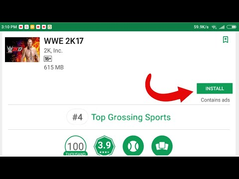 Xxx Mp4 Download Real WWE 2K17 For Android From Playstore 3gp Sex