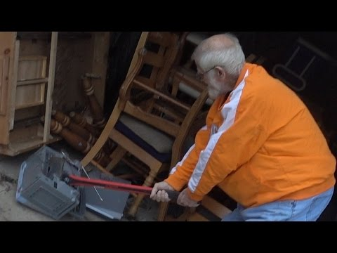 ANGRY GRANDPA'S NEW AXE!! (AFTERMATH)