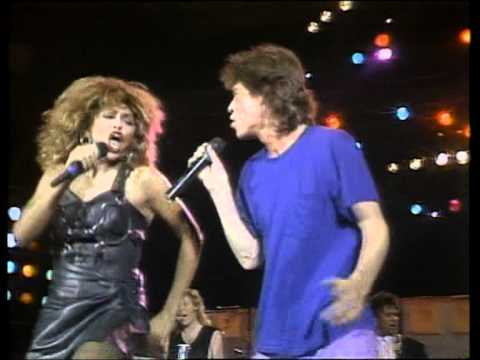 Mick Jagger & Tina Turner ☮ State Of Shock & It s Only Rock n Roll Highest Quality