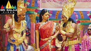 Prema katha Chitram Stage (Droupathi Vastrapaharanam) | Sudheer Babu, Nanditha | Sri Balaji Video