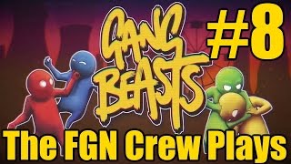The FGN Crew Plays Gang Beasts #8 - The Jukerino (PC)(FaceCAMS)
