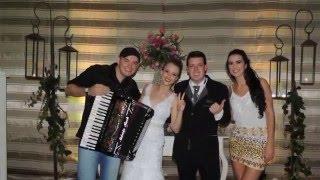 Márcio Rech e  Mariana Lodi 054-99356865 Aleluia Casamento de Natan e Rafaela 23 04 2016