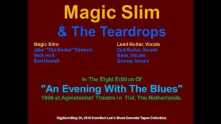Magic Slim & The Teardrops 1996 Tiel, The Netherlands