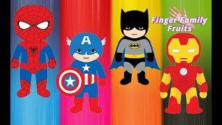 Wrong Heads Kids Superheroes Finger Family Nursery Rhymes