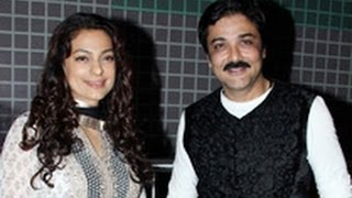 Juhi Chawla at 'Jatishwar' Bengali Film Premiere   Prosenjit Chatterjee, Shoojit Sircar