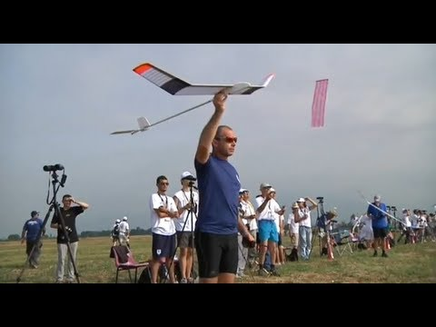 2012 FAI European Championships for Free Flight Model Aircraft F1A F1B F1C
