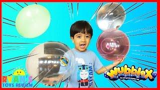 WUBBLEX ANTI GRAVITY BALL Toys Balloons for kids As Seen on TV family fun playtime Ryan ToysReview