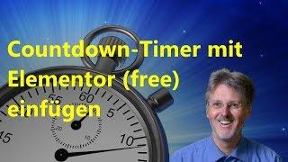 Countdown Timer für Elementor
