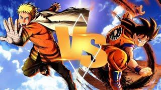 Hokage Naruto VS Goku  (Sprite Animation)