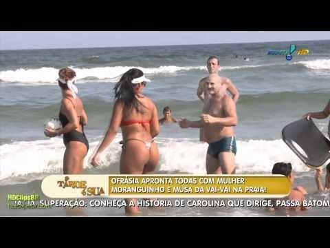 Mulher Moranguinho Praia