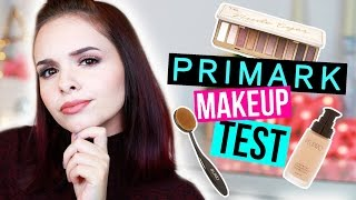 PRIMARK MAKEUP im LIVE TEST! - Full Face Using ONLY PRIMARK Makeup / REVIEW