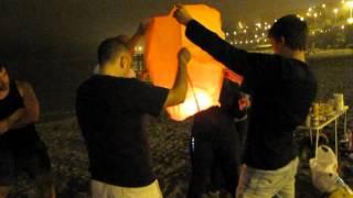 Lámpara japonesa (San Juan 2012, Ceuta)