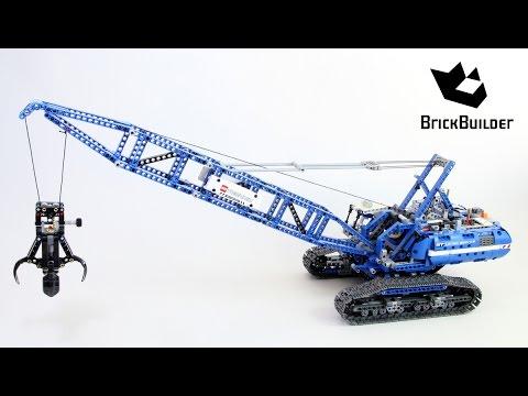 Lego Technic 42042 Crawler Crane Lego Speed build