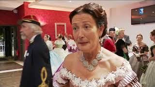 Le bal du quadrille du Val d'amour au château de Clairvans (39)