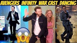 Avengers Infinity War Cast Dancing Ft. Chris Evans, Robert Downey Jr. & Tom Holland