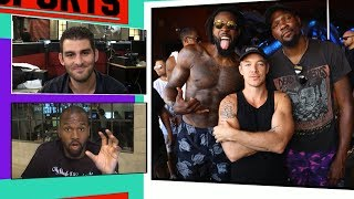 DeAndre Jordan Rages with Kevin Durant at Vegas Bday Pool Party | TMZ Sports