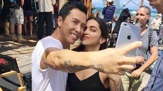 Deepika Padukone's Selfie With Donnie Yen On The Set Of Xxx