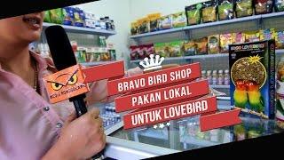 DUNIA HOBI : BRAVO Bird Shop Pakan Lokal EBOD LOVEBIRD