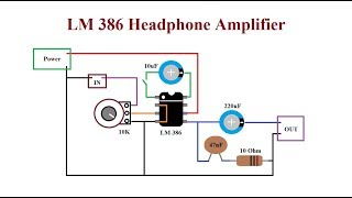LM386 Amplifier. Loud, cheap and reliable.