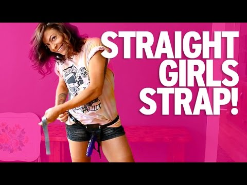 Straight GIRLS Try Strap-Ons For Their Boyfriends