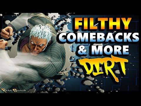 SFV - Hype Comebacks | RB Urien Crazyness & More Dirt - SF5