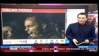 World News Today Venezuela Helicopter Attack pilot oscar perez caught up in bloody siege