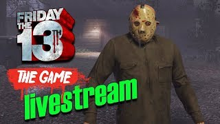 Freitags in Camp Blood ☠ FRIDAY THE 13th: THE GAME ☠ Livestream 58 [GER]
