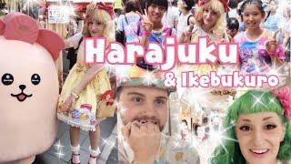 Fashion Day in Harajuku + Ikebukuro Arcade