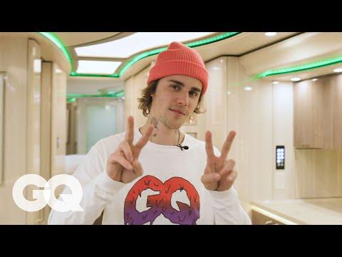 Inside Justin Bieber s Tour Bus GQ