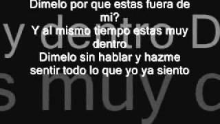 Enrique Iglesias ''Dimelo'' With Lyrics