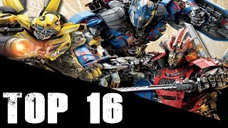 Transformers: Top 16 Strongest/Powerful Transformers (Movie Rankings) 2017