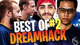 BEST OF DREAMHACK 2018 FORTNITE #2 (TEAM SOLARY & TEAM LUNARY)