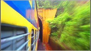 MUMBAI - MANGALORE : The Best Train Journey of India During Monsoon