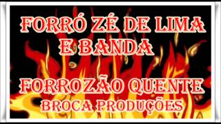 Forró Novo 2014 Pra Todo Mundo Zé de Lima e Banda ao Vivo