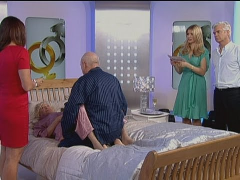 This Morning's sex positions for the over-70s: Viewers stunned