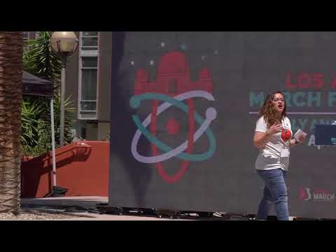 Xxx Mp4 March For Science Los Angeles 2018 Ximena Cid 3gp Sex