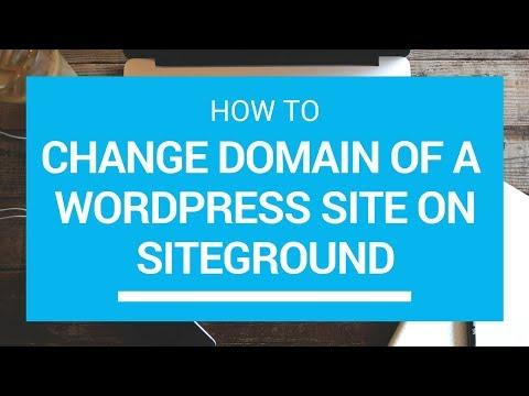 Xxx Mp4 How To Change WordPress Domain Name Move WordPress To New Domain Siteground Softaculous 3gp Sex