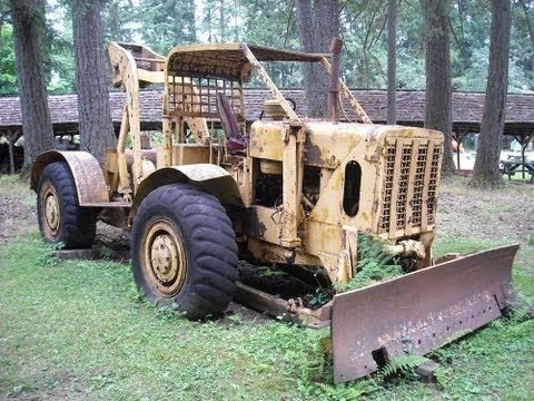 old Log Skidder
