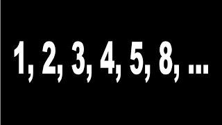 Math for fun, 1, 2, 3, 4, 5, 8, ____, ____,