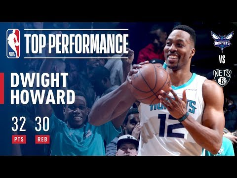 Dwight Turns Back The Clock And Goes Full Superman For A 30-30 Performance!
