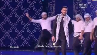 يعقوب شاهين من الحلقة النهائية  - اعلنها يا شعبي اعلنها - Arab Idol 2017