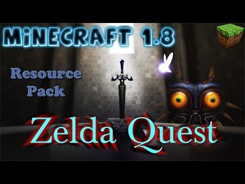 Minecraft 1.8 Legend of Zelda Sounds Resource Pack