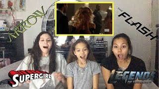 Supergirl 3x08 'Crisis on Earth-X' Crossover Part 1 Reaction!!