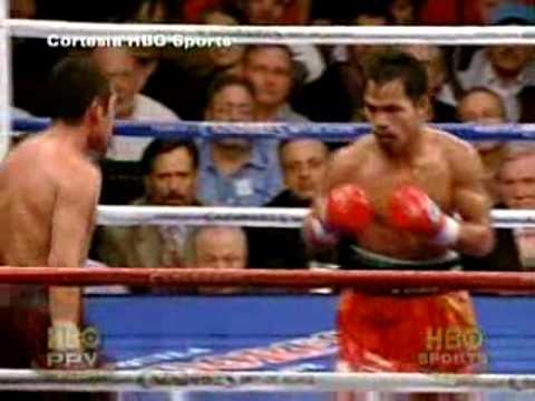 Destrucción de Oscar De La Hoya por Manny Pacquiao