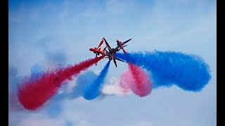 2018  Red Arrows Airshow in usa
