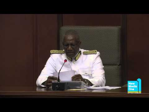 2014 Throne Speech Delivered by His Excellency Dr. Rodney Williams
