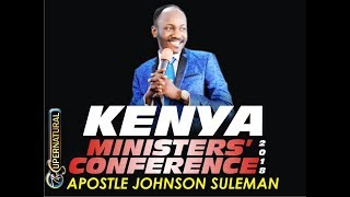 Ministers Conference - Nairobi, Kenya - with Apostle Johnson Suleman