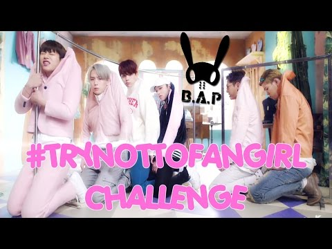 B.A.P: TRY NOT TO FANGIRL / FANBOY CHALLENGE